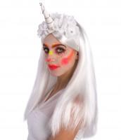 Blumige Einhorn Kopfbedeckung