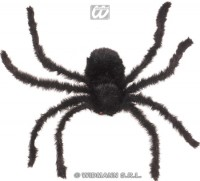 Spinne 75cm haarig schwarz