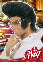 Perücken Jumbo Elvis