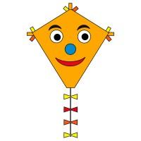 HQ INVENTO Drachen Eddy Happy Face