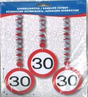 Rotorspiralen Verkehrsschild 30 Jahre