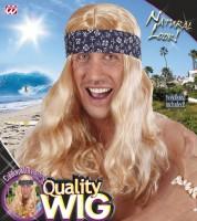 Perücke Hippie blond