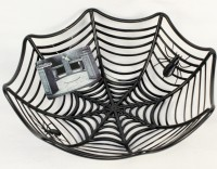 Spinnennetz Halloweenkörbchen