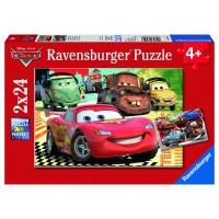 RAVENSBURGER Puzzle Neue Abenteuer Cars