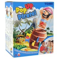 TOMY GAMES Pop Up Pirat, d/f/i
