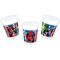 Procos 8 Plastikbecher Avengers Power
