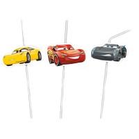 Cars 6 Trinkhalme Cars 3