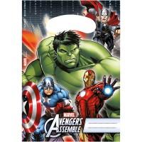 Procos 6 Partybeutel Avengers Power