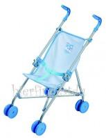 Puppenwagen für Baby Born, Junge, hellblau