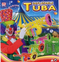 Aufblasbare Trompete Clown