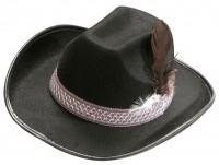 Cowboyhut Kinder schwarz