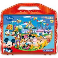 Clementoni Würfelpuzzle Mickey Mouse12tlg