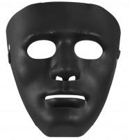 Schwarze Anonymus-Maske