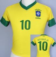 Fussballtrikot Brasilien Kind 110cm