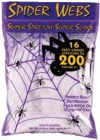 Weisses Spinnennetz
