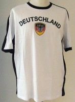 T-Shirt Deutschland XXL 100% Baumwolle