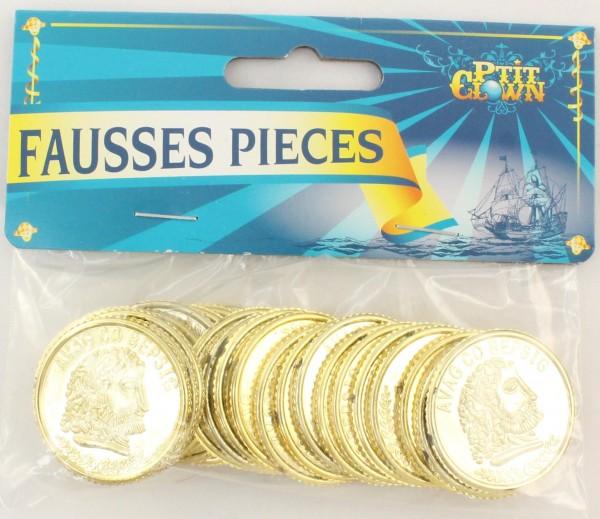 Goldene Münzen