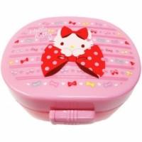 Hello Kitty Lunchbox Doppeldecker Ribbon