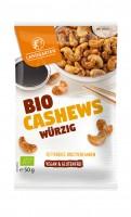 Landgarten Bio Cashews würzig 50g Btl. x 10