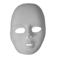 Fasnacht Männermaske zum Selbstbemalen