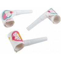 6 Luftrüssel Cupcake