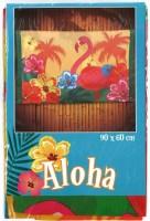Fahne Aloha mit Flamingo