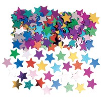 Amscan Deko-Konfetti Sterne multi