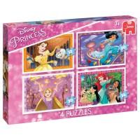 JUMBO Puzzle Princess 4 in 1