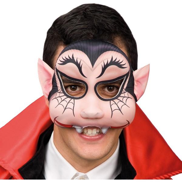 Fasnacht Halbmaske Vampir Kinder