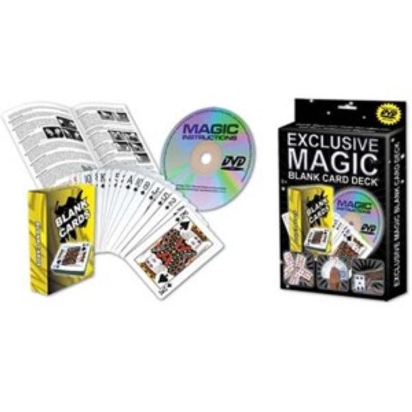 Zauberset 22 Blank Card Deck unbedruckte Karten exclusiv magic
