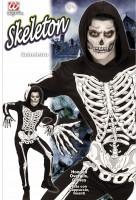 Skelettkostüm Nachtleuchtend XL