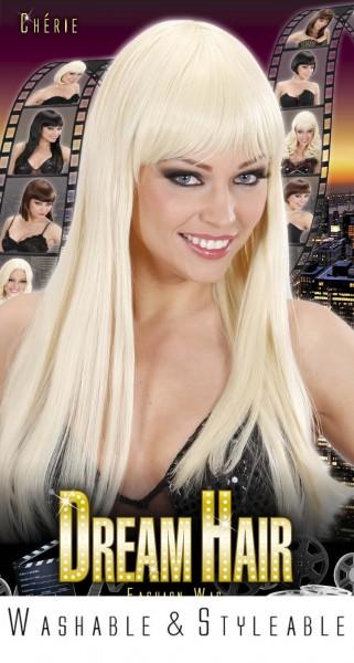 Perücke Blonde Cherie