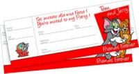20 Einladungskarten Tom&Jerry