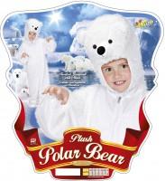 Kinderkostüm Eisbär 3 bis 5 Jahre