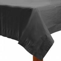 Amscan Tischdecke 137x274cm schwarz