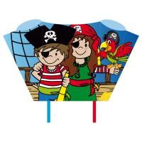HQ INVENTO Drachen Sleddy Pirate Crew