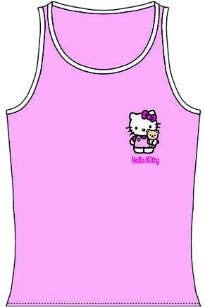 Hello Kitty Unterleibchen Kinder Gr. 122-128