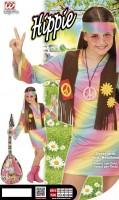 Kostüm Hippie Girl 128cm