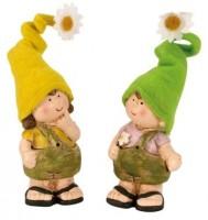 Gartenkind Figur