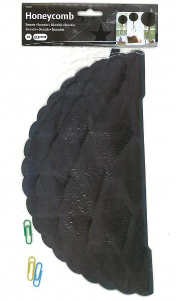 Honigwaben-Ball schwarz