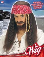 Perücke Pirat
