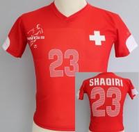 Fussballtrikot Schweiz Kindergrösse 98cm
