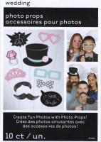Party-Set für Hochzeitsfotos