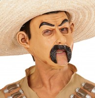 Mexikaner-Maske mit offenem Mund