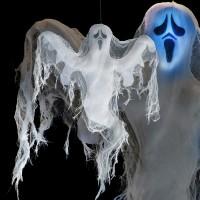 Fasnacht Geist mit LED 70cm