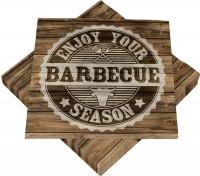 Servietten Barbecue