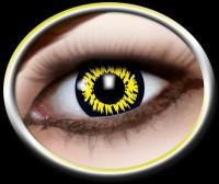 Kontaktlinse Werwolf gelb
