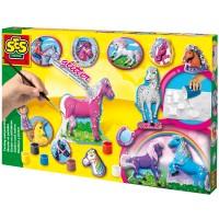 SES SES Giessen und malen Pferde