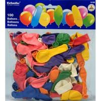 100 Ballone farbig