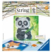 RAVENSBURGER String it Midi Panda & Fox